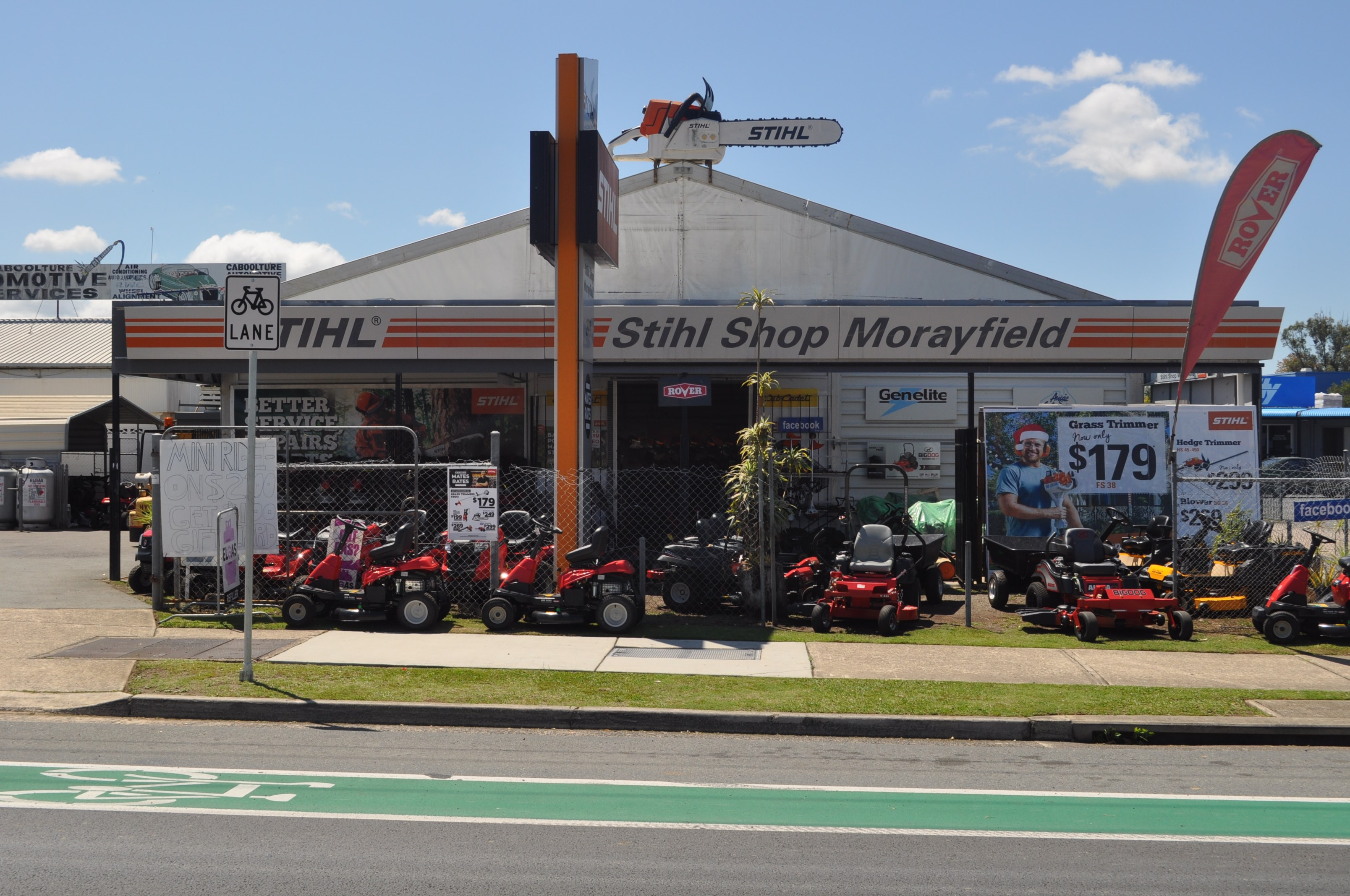 Stihl Shop Morayfield Shop Front