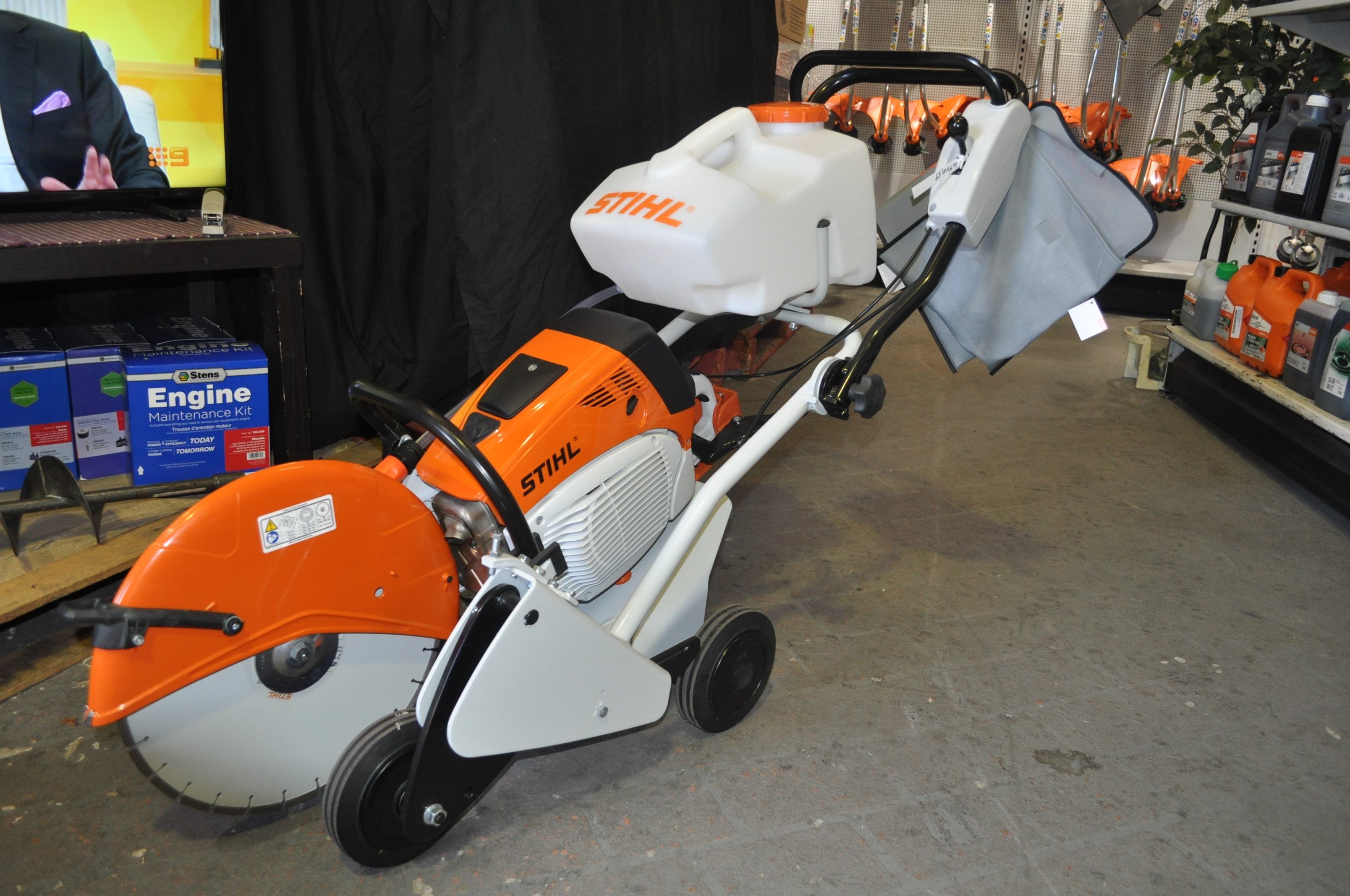 Stihl Concrete Saw Cutter