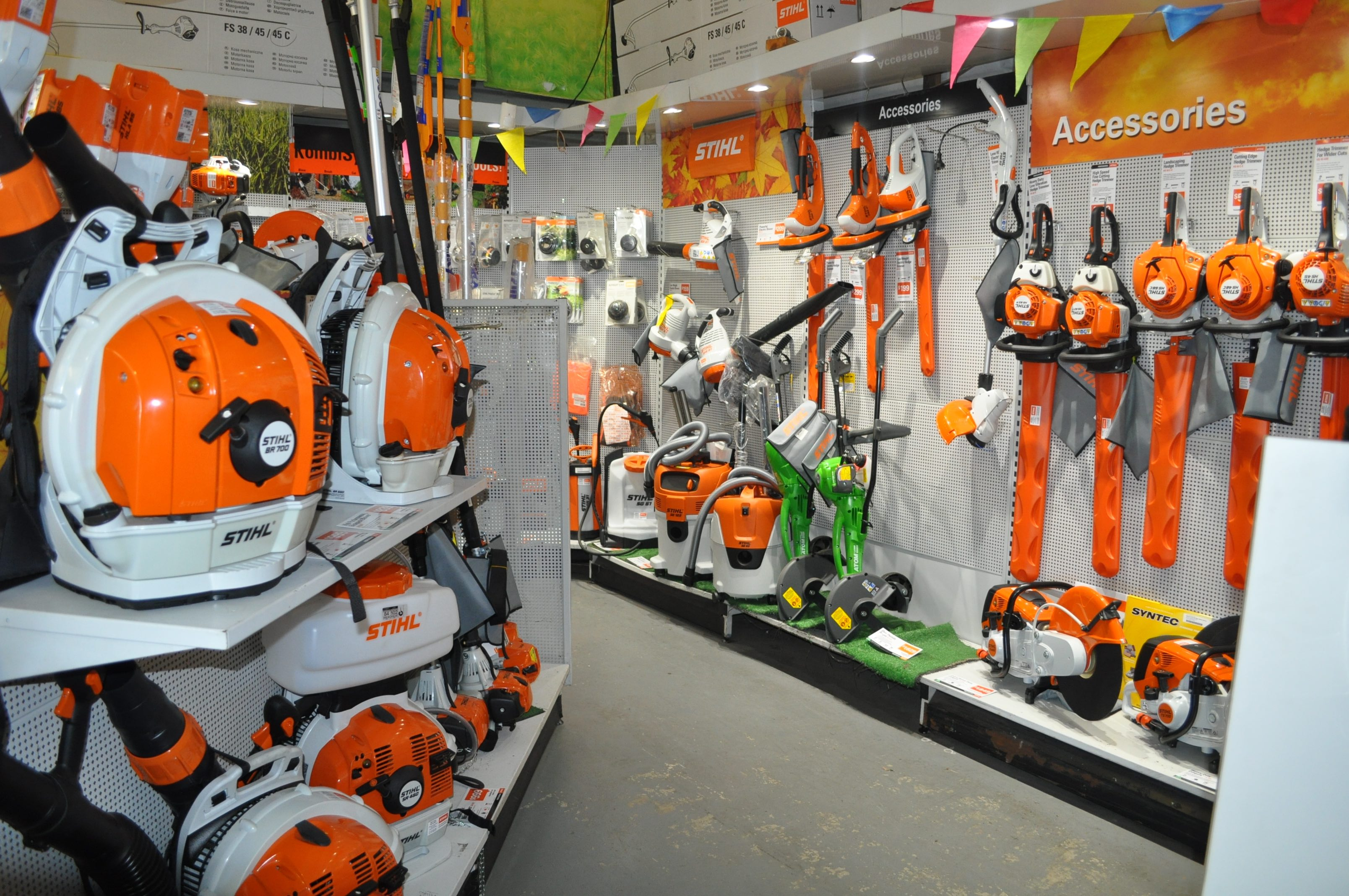 Stihl Shop Morayfiled range of products