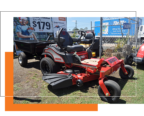 Image of Big Dog Ride On Mower at Stihl Shop Morayfield